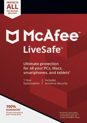 McAfee LiveSafe Unlimited Devices