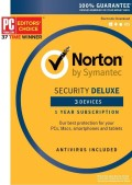Norton Security Deluxe - 3 Dispozitive