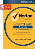 Norton Security Deluxe - 5 Dispozitive