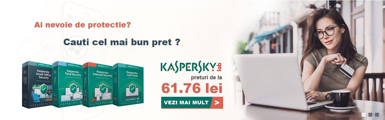 Oferta antivirus Kaspersky